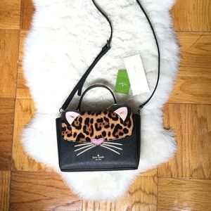 Kate spade kerrie run wild cat bag